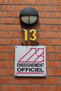 École de promotion sociale de Quaregnon - photo logo enseignement officiel